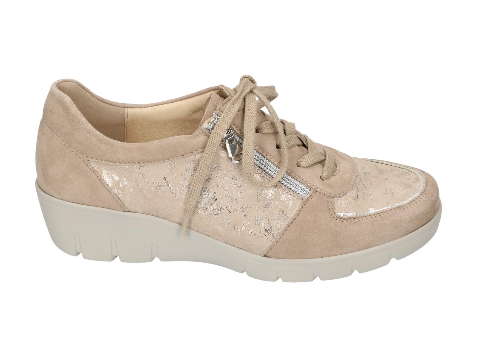 Semler Chaussure De Dentelle Taupe 88k22Yw